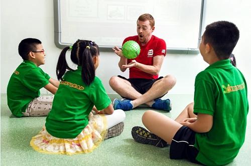 石家庄励步英语外教课堂