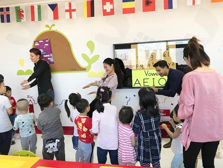 石家庄班睿少儿英语有针对幼儿的英语课程吗